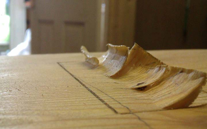 Carving and construction of a wooden handplane. Wooden wave carving. Handmade in Pembrokeshire, Wales.