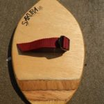 Wooden bodysurfing handplane, handmade in Pembrokeshire, Wales, UK, Buy from our online shop
