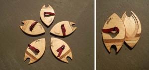 Wooden Bodysurf handplane, handmade in Pembrokeshire, Buy online