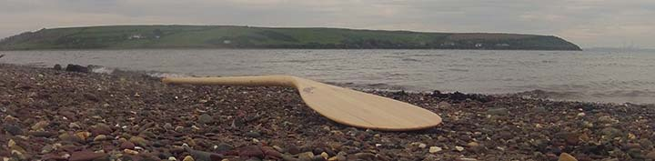 Sakura Workshop, Wooden Stand Up Paddleboard Paddle, handmade in Pembrokeshire, Wales, UK - Buy online