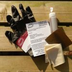Danish oil care kit for wooden bodysurfing handplanes and paddles, Buy online from Pembrokeshire, Wales, UK