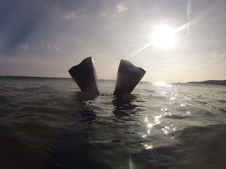 Bodysurfing in Pembrokeshire Wales, bodysurfing handplanes for sale UK