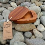 Utilie wood Surf wax holder handmade in Pembrokeshire Wales Buy online