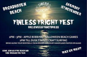 Finless Fright Fest event