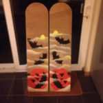 Sakura Workshop Finless Fright Fest Belly boards ready for a demo ride