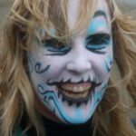 Sakura Workshop Finless Fright Fest Fantastic face paint